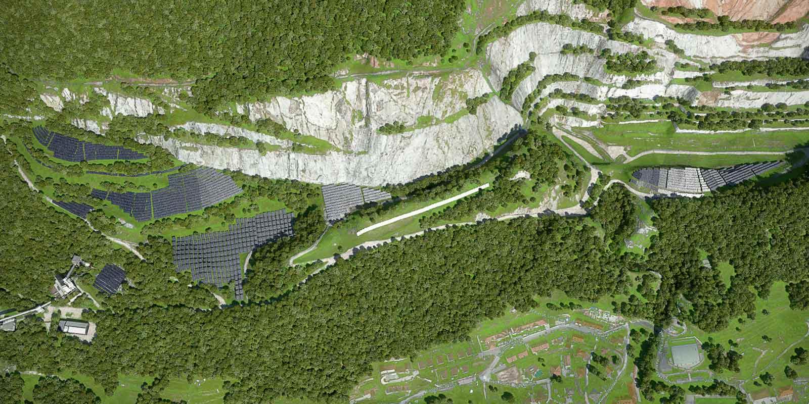 Pc Project - impianto fotovoltaico Cava Alpetto